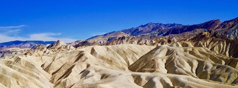 View of a desert landscape